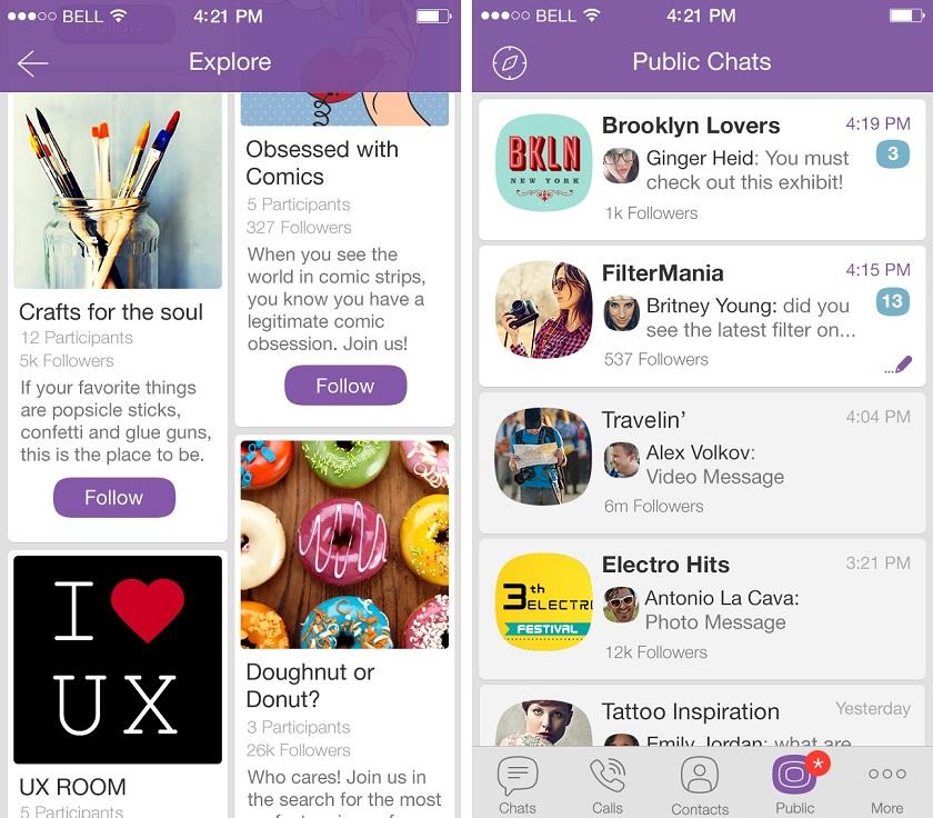 Viber запустил публичные аккаунты для компаний свозможностью общения с покупателями