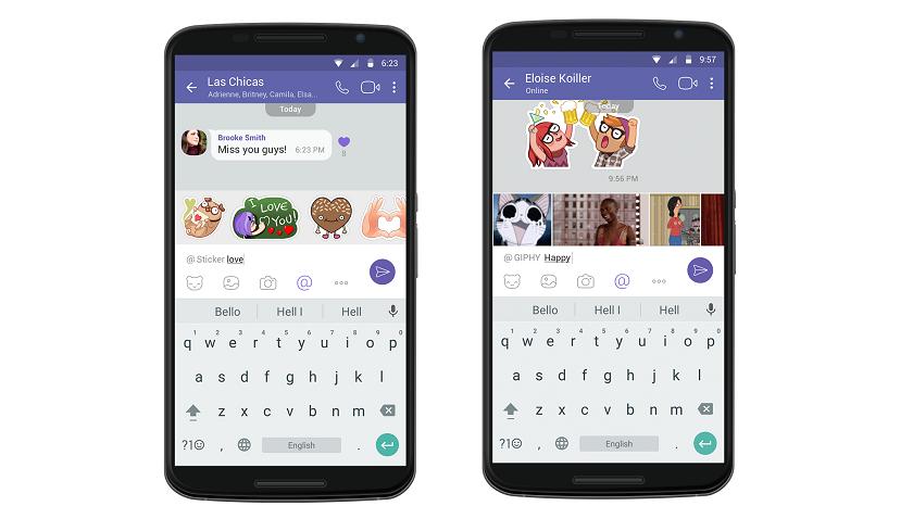 Viber для андроид иiOS получил короткие видеосообщения ипоиск постикерам