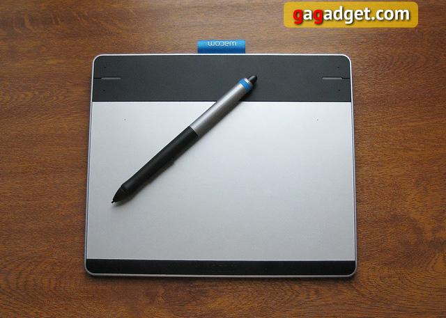 Обзор графического планшета Wacom Intuos Pen&Touch S (CTH-480S-RUPL)