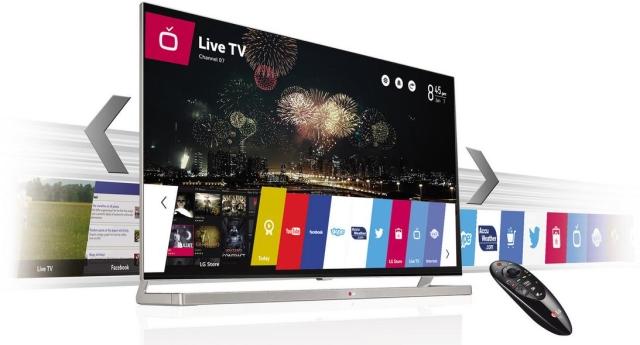 Линейка телевизоров lg на webos 2014 года