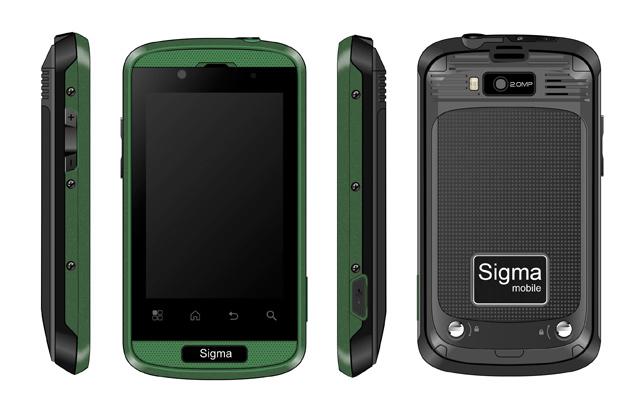 Sigma mobile X-treme