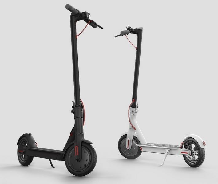 Смарт Electric Motor Scooter— складной электросамокат отXiaomi