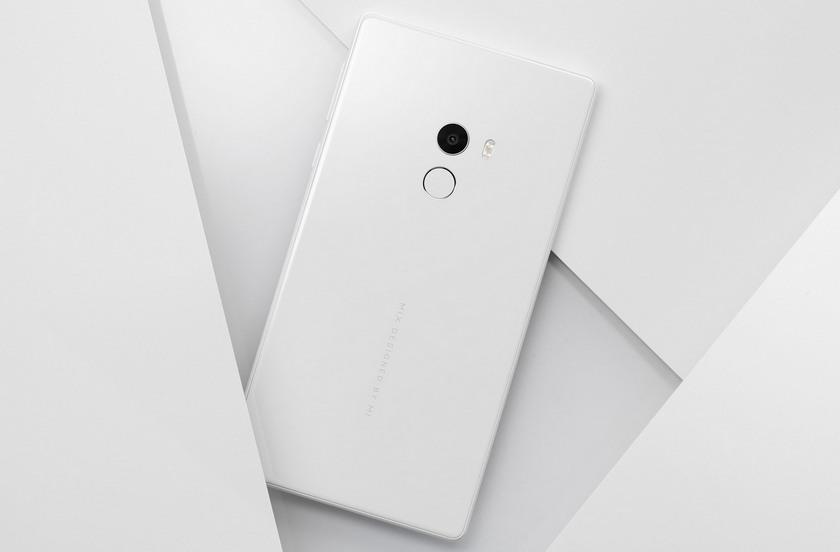 CES 2017: безрамочный Xiaomi Mi MIX в белом цвете