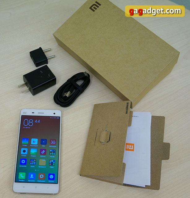 Обзор флагманского смартфона Xiaomi Mi4-2