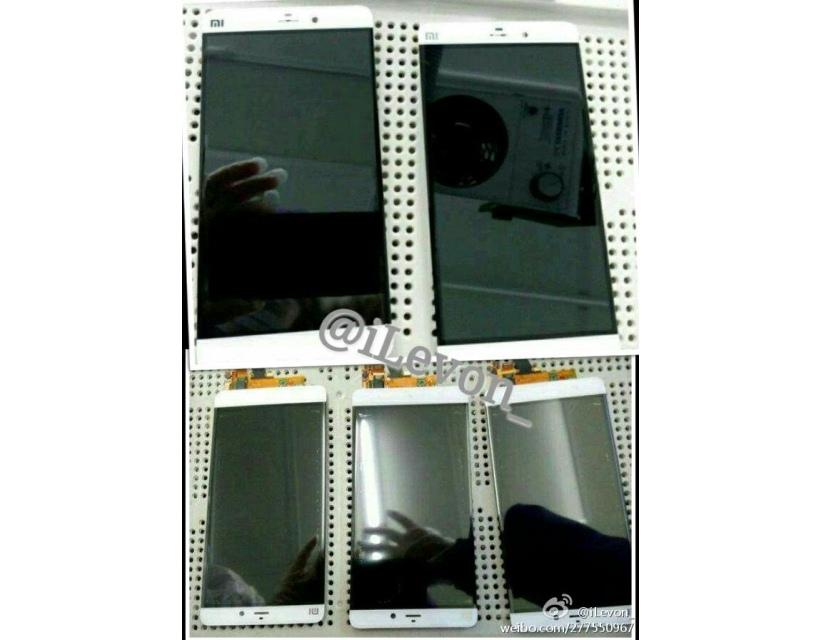 Избавляемся от рамок: первые изображения смартфона Xiaomi Mi5