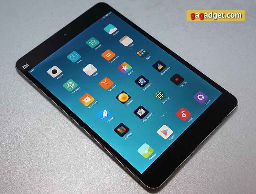 Обзор тонкого металлического планшета Xiaomi MiPad 2-4