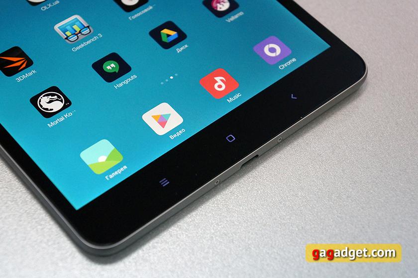 Обзор тонкого металлического планшета Xiaomi MiPad 2-6