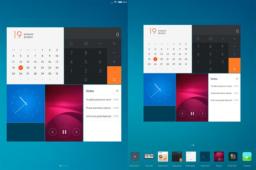 Обзор тонкого металлического планшета Xiaomi MiPad 2-25