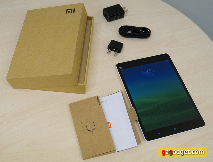 Обзор 7.9-дюймового Android-планшета Xiaomi MiPad-2