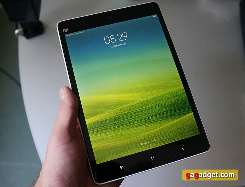 Обзор 7.9-дюймового Android-планшета Xiaomi MiPad-3
