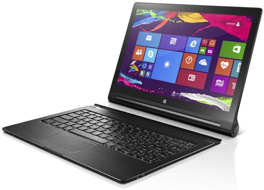 Lenovo выпустила планшет Yoga tablet 2 with Windows с 13.3-дюймовым QHD-дисплеем