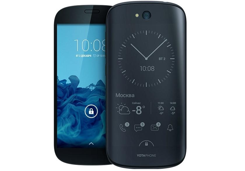 Yota Devices анонсировала смартфон Yotaphone 2 с двумя сенсорными экранами