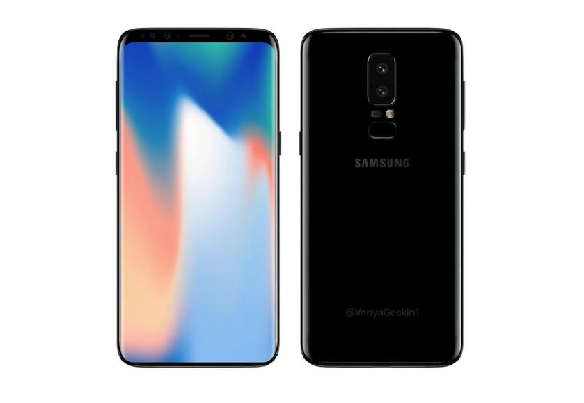 Действительно безрамочный Samsung Galaxy S9 появился на фотографиях