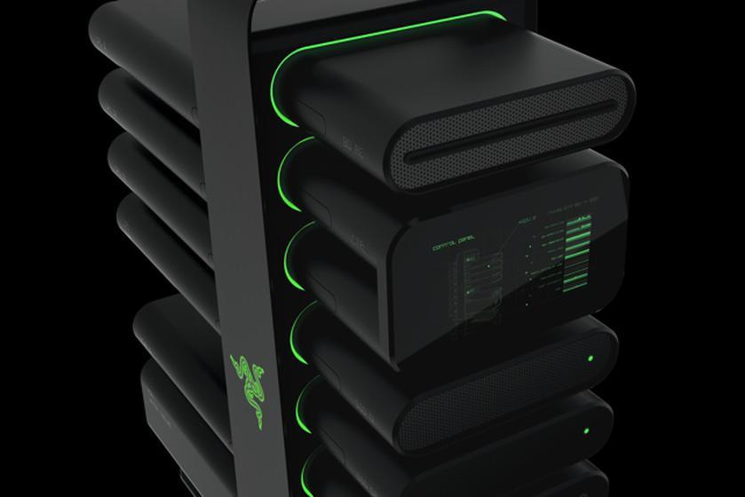 Razer Christine: бескомпромиссный концепт модульного ПК для геймеров