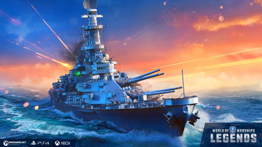 Wargaming выпустила World of Warships: Legends для PlayStation 4 и Xbox One