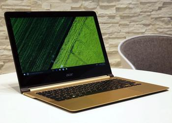 IFA 2016. Acer Swift 7: первый в мире ультрабук тоньше сантиметра