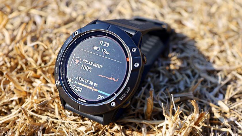 Garmin готовит новые смарт-часы, которые смогут заряжаться от солнечной энергии