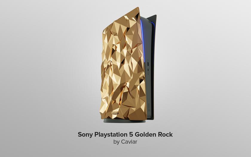 Caviar представил Samsung Galaxy S21, Sony PlayStation 5 и AirPods Max из золота и крокодиловой кожи