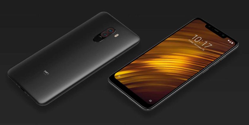 Xiaomi остановила обновление Android 10 для Pocophone F1
