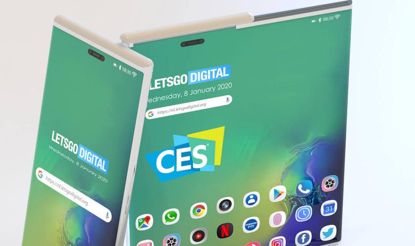 Круче Galaxy Fold: Samsung показала смартфон с«растягивающимся дисплеем» наCES 2020
