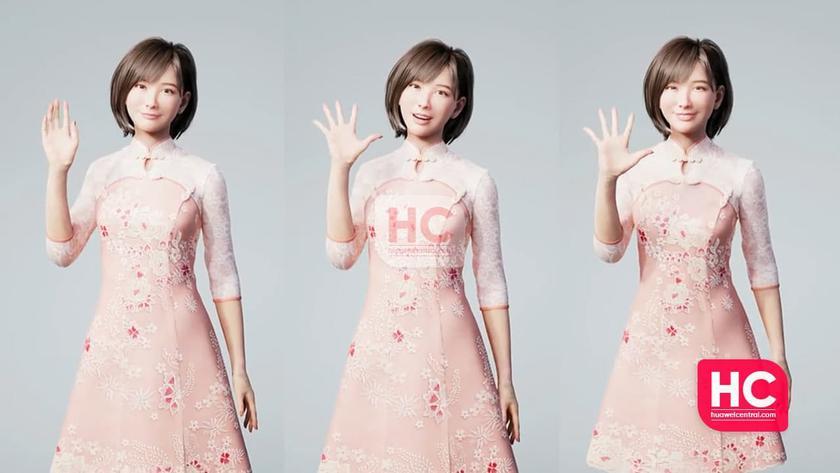 Huawei представила своего первого виртуального человека: знакомьтесь, это Lysa, и она выглядит, как живая