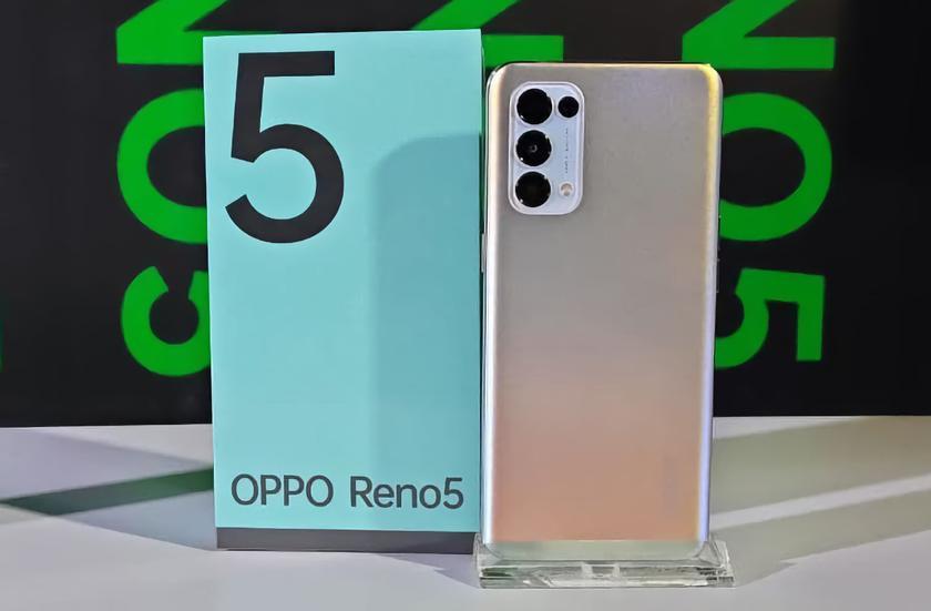 OPPO готовит глобальную версию Reno 5: AMOLED-дисплей на 90 Гц, квадро-камера на 64 Мп, чип Snapdragon 720G и быстрая зарядка на 50 Вт