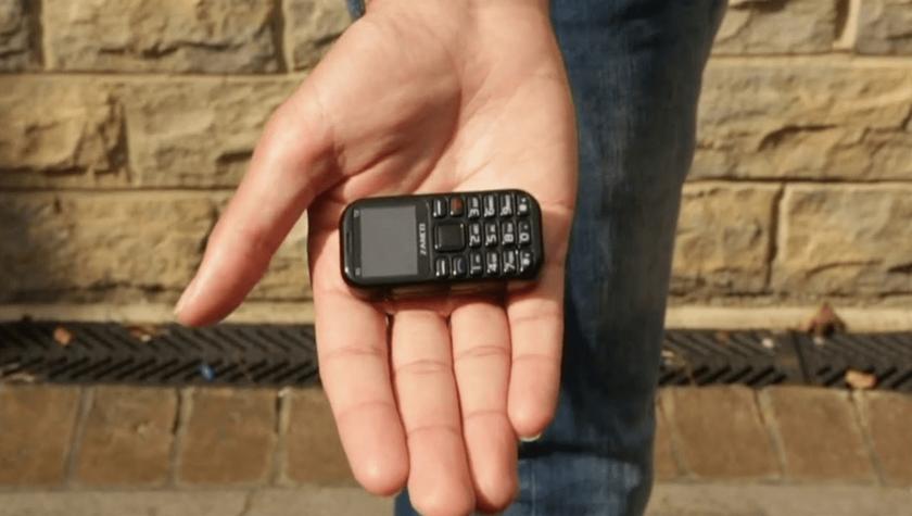 Zanco Tiny T2 — самый маленький в мире телефон размером с зажигалку