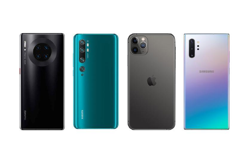 DxOMark назвал лучшие камерофоны 2019 года