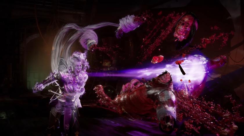 Терминатору невыжить: авторы Mortal Kombat 11 показали геймплей заСиндел, жену Шао Кана