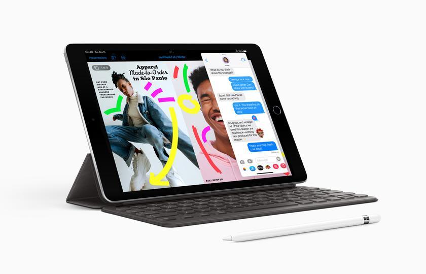 Apple iPad 9: доступный планшет с чипом A13 Bionic, как у iPhone 11, и камерой, как у iPad Pro, за $329