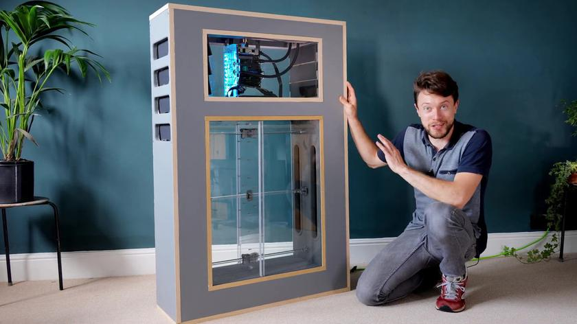Энтузиаст создал «дышащий» компьютер с искусственным легким: посмотрите, что из этого получилось