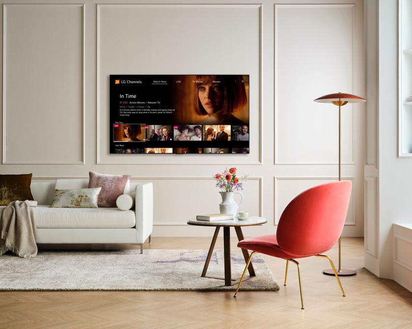 Телевизоры LG получают большое обновление сервиса LG Channels