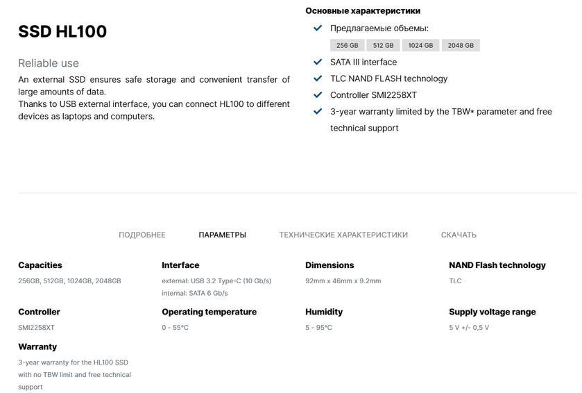 Обзор GOODRAM HL100: дискета XXI века-12