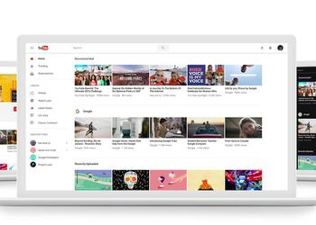 How to enable the new YouTube design with a dark interface