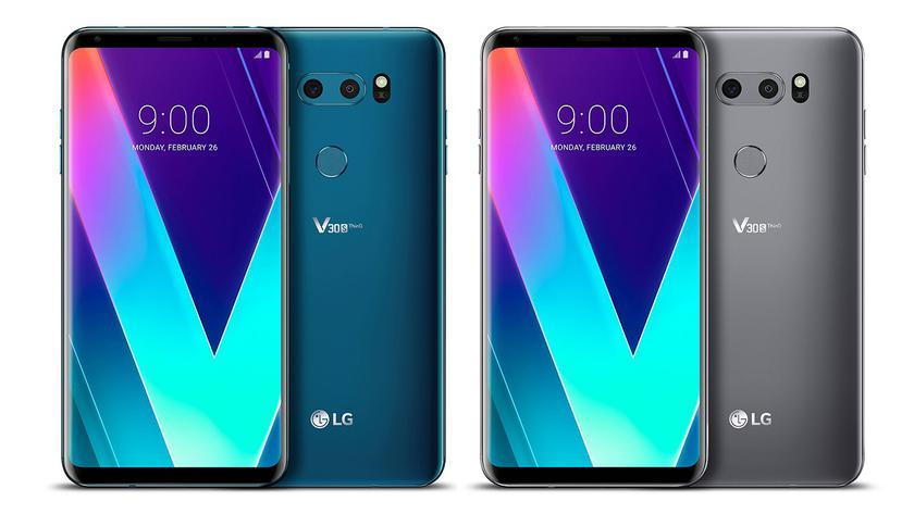 LG V35 ThinQ: the next version of the flagship V30 for fans of selfie and music lovers