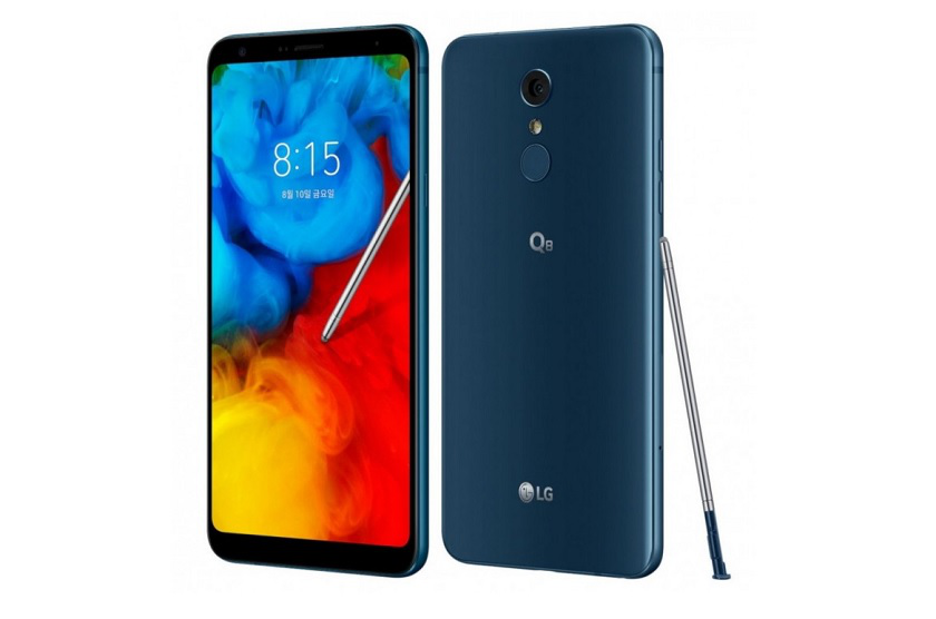LG Q8 (2018) смартфон с FullVision-экран, SoC Snapdragon 450 и цена $480