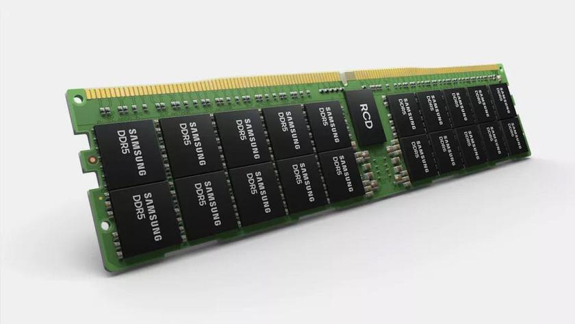 Новые микросхемы памяти DDR5 от Samsung увеличивают емкость одной планки до 768 ГБ