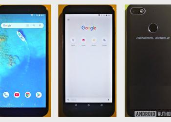 General Mobile 8 Go: smartphone of the Turkish manufacturer on Android Go