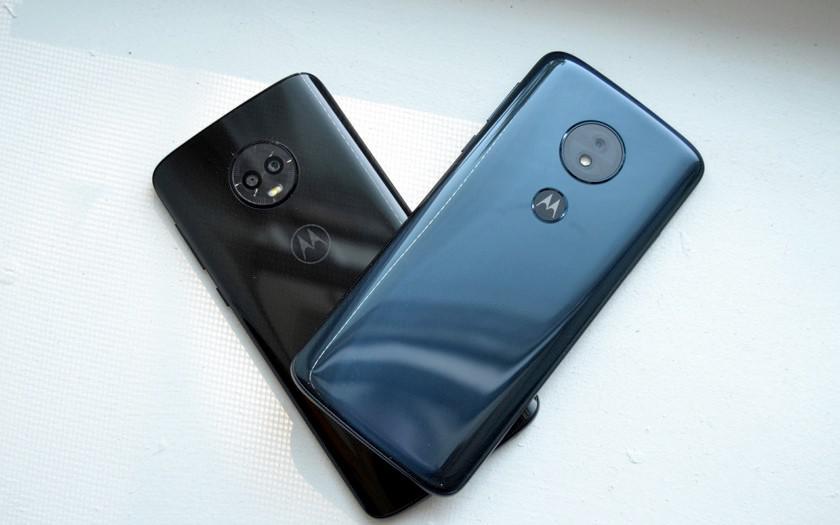 В следующем году Motorola представит две модели Moto G7 вместо трёх