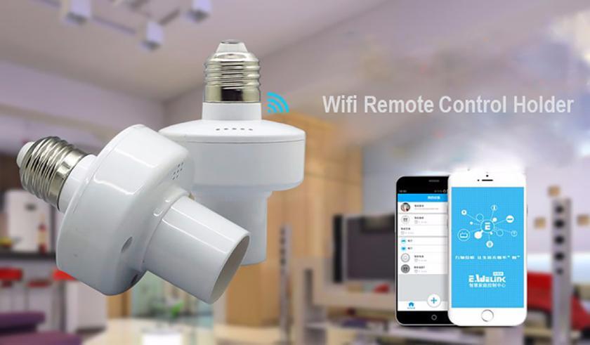 Sonoff Slampher: Wi-Fi-цоколь, превращающий любую лампочку в умную