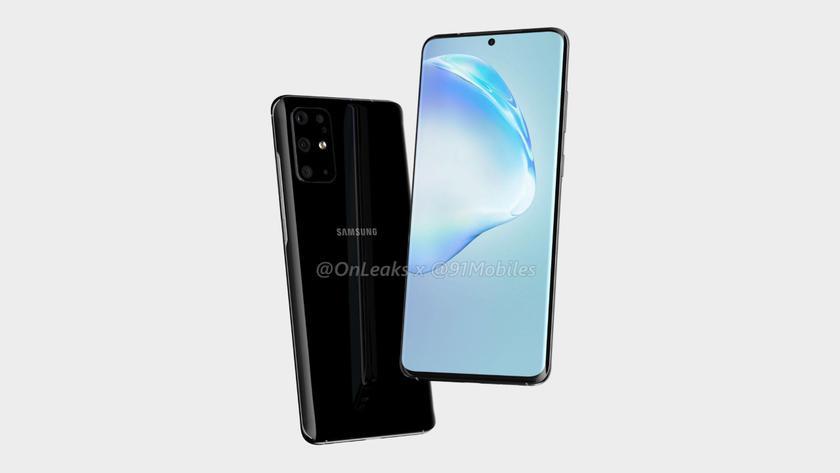 Первые изображения Samsung Galaxy S11: L-образная камера с четырьмя модулями и «дырявый» дисплей, как у Galaxy Note 10