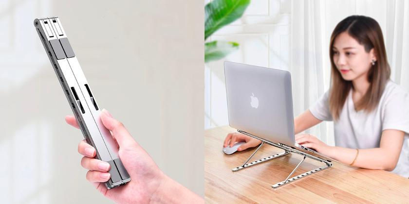Marsgine Laptop Stand: портативная алюминиевая подставка для ноутбука