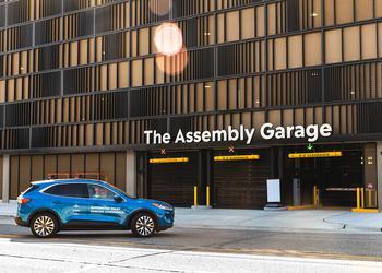 Ford и Bosch тестируют полностью автоматический паркинг для умного города