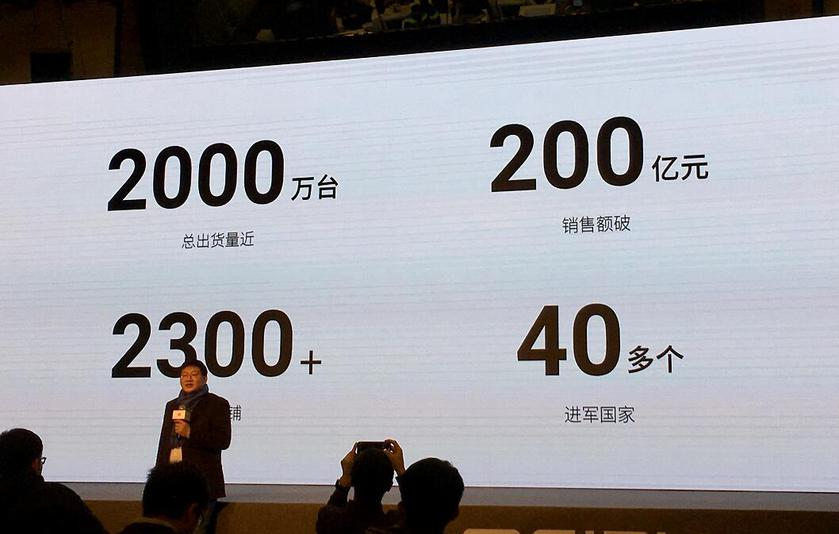 Meizu sold 20 million smartphones in 2017