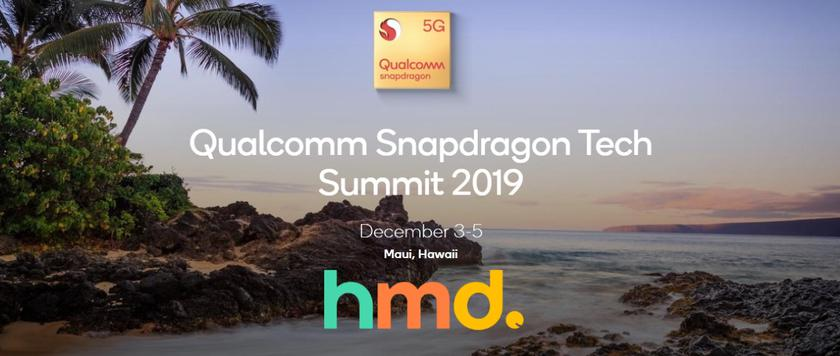 HMD Global расскажет о смартфонах Nokia с 5G на мероприятии Qualcomm Snapdragon Summit 5 декабря