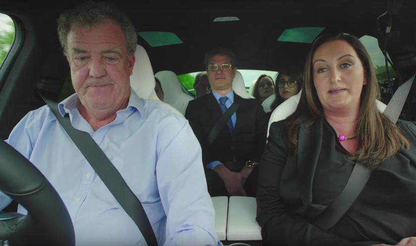 Video: Jeremy Clarkson of Top Gear tests Tesla X in the presence of 6 serious lawyers