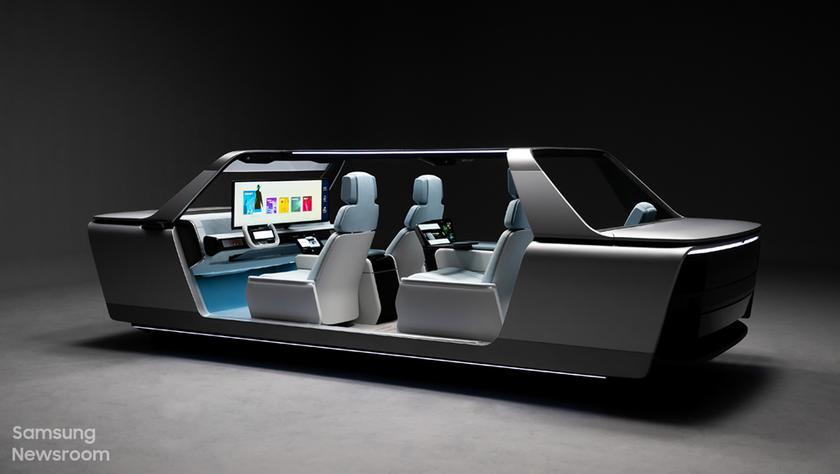 Digital Cockpit 2021: Samsung показала концепт системы для «умных» автомобилей будущего