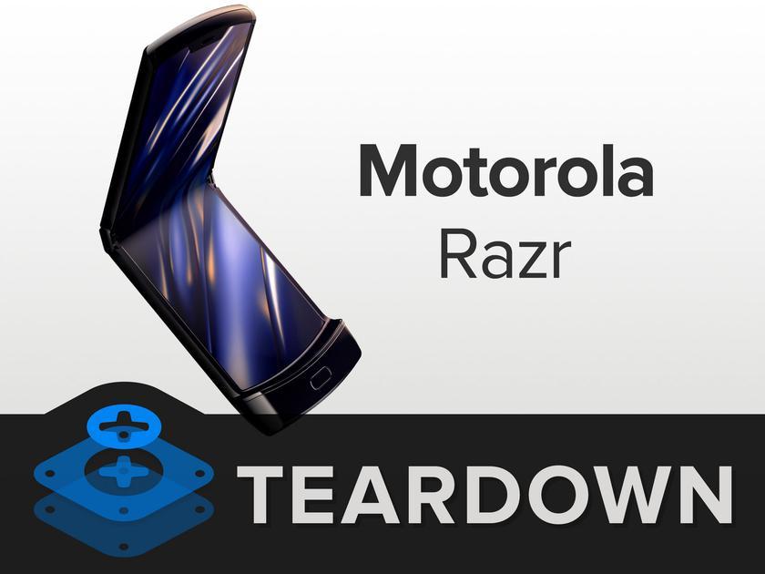 iFixit: «раскладушку» Motorola RAZR практически невозможно отремонтировать