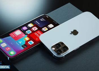 iPhone 12s Pro показали на рендерах с уменьшенной «челкой» и подэкранным Touch ID