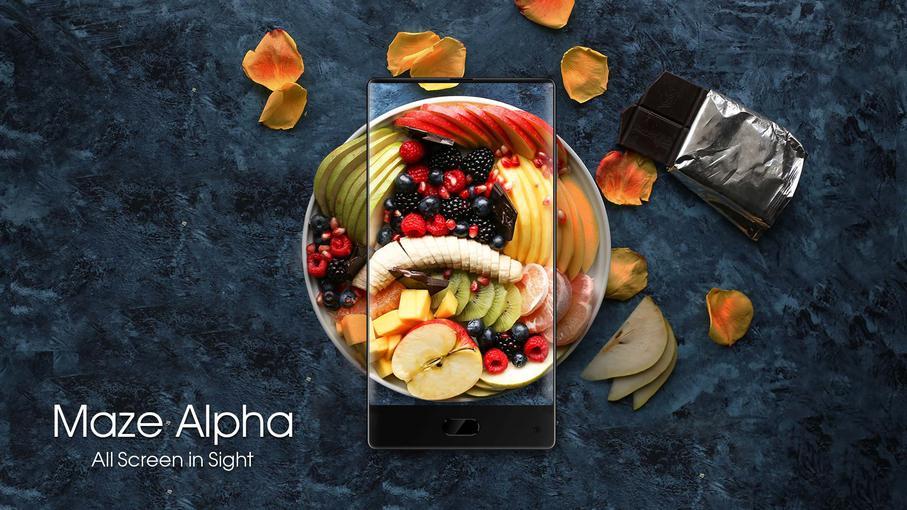 Смартфон Maze Alpha без рамок - скоро у продажу-2